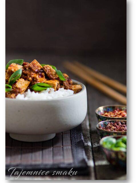 syczuańskie mapo tofu z wołowiną