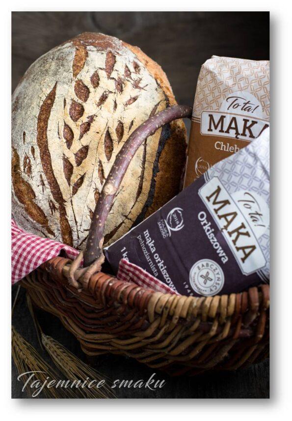 orkiszowy chleb na drożdżach