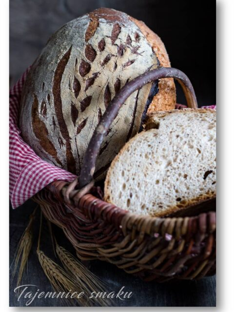 chleb orkiszowy na drożdżach