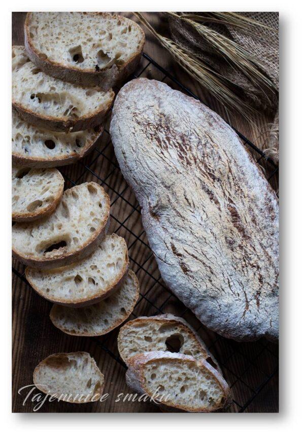 rustykalna ciabatta włoskie pieczywo