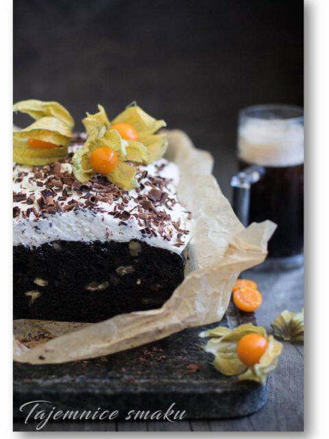 ciasto Guinness czekolada
