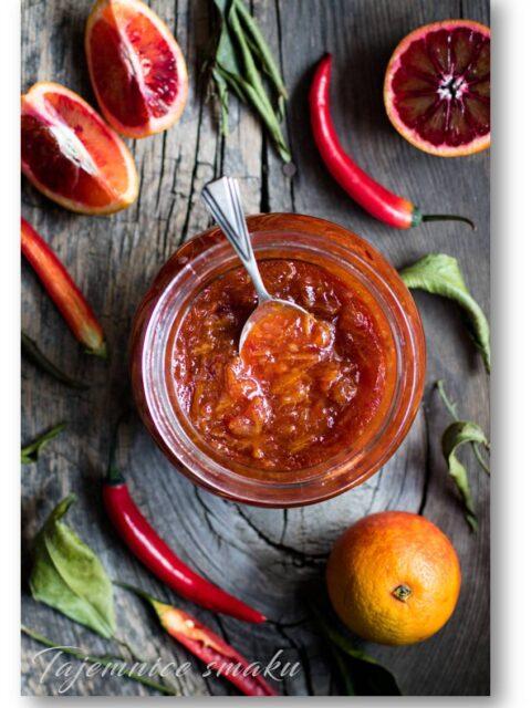 konfitura dżem pomarańcze i chilli