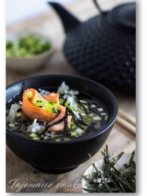 Prawdziwa kuchnia japońska. Ochazuke, ryżowo-herbaciana zupa