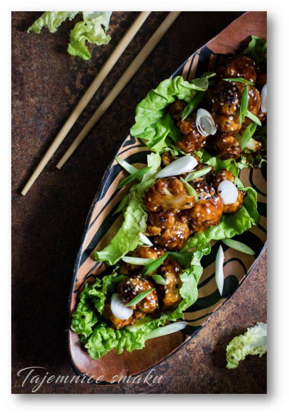 Kalfior po chińsku kalafiorsticky sesame cauliflower