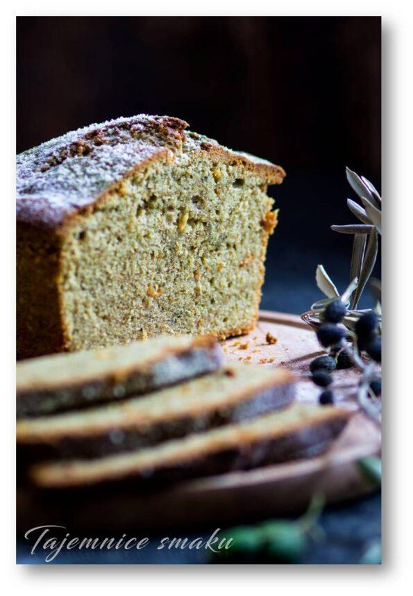 herbata matcha zielone ciasto