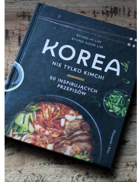 korea nie tylko kimchi książka kucharska kulinarna